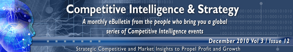 Frost & Sullivan Competitive Intelligence November 2010
